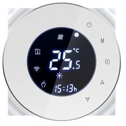 Inteligentny termostat zwierny TUYA Biały TM006B